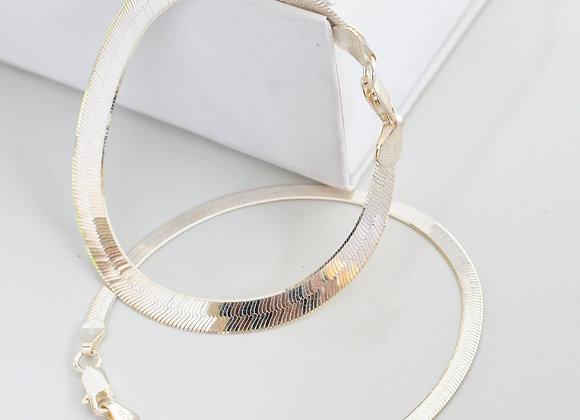 Gleam Herringbone Bracelet
