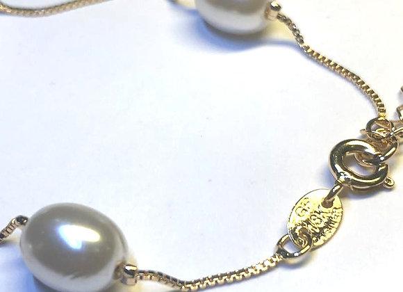 Pearl melts bracelet