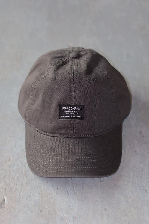 GORRA GRIS HIGH LOOP