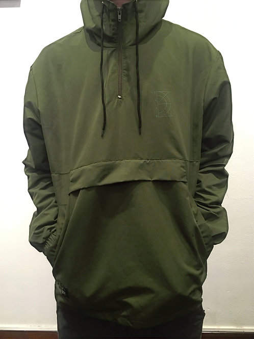 CAMPERA VERDE ANORAK TREE