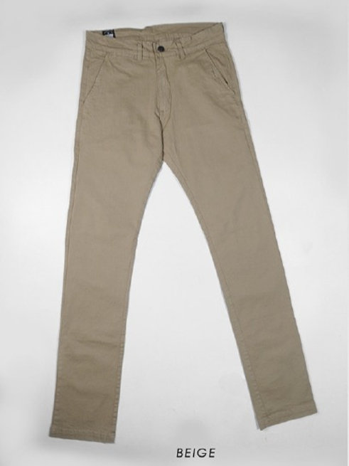 PANTALON CHINO BEIGE TREE