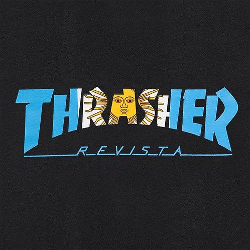 REMERA ARGENTINA NEGRA THRASHER