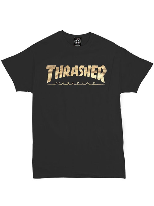 REMERA MAGAZINE GOLD THRASHER