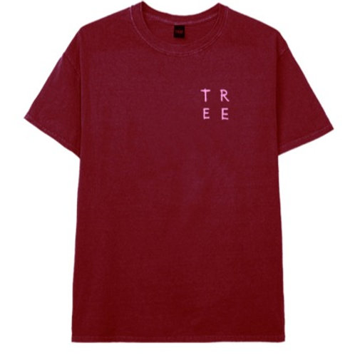 REMERA EXPRESION BORDO TREE