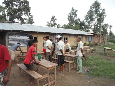 Benches for Karnaleshwar School