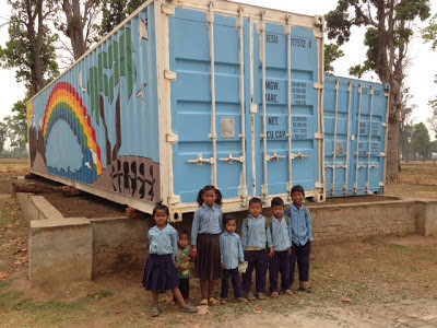 From Stoneybroke Christian School to ShivaNagar: The Container School Arrives!