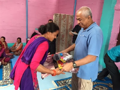 Blankets For Earthquake Victims