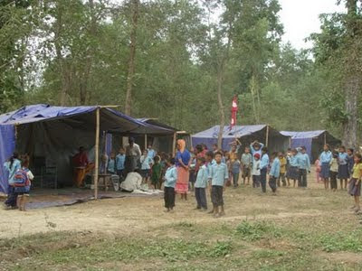 Flood Relief for PremNagar and Simrahine