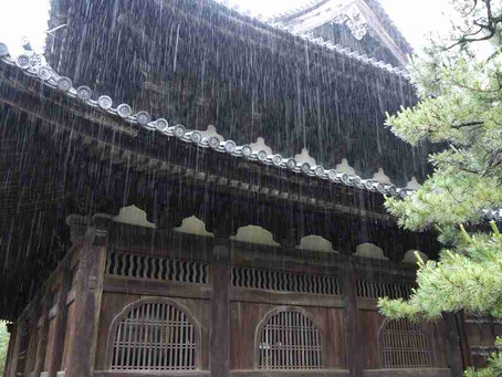 Kyoto In a Raindrop - Where should we go when raining Part.I