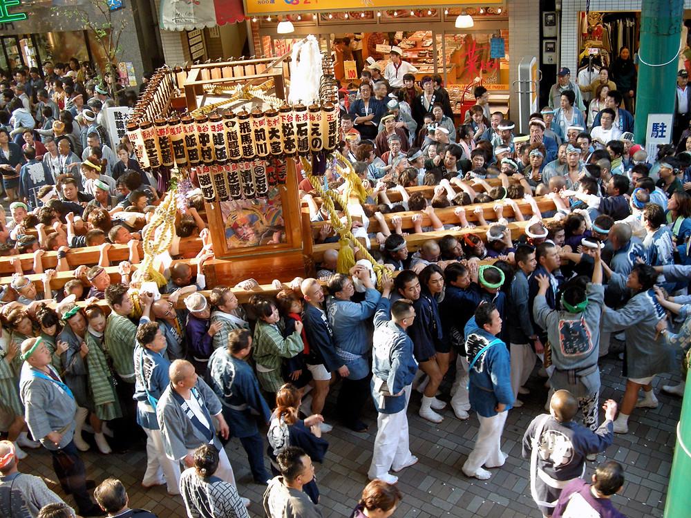 Tokyo Golden Week: Akabane Baka Festival Parade