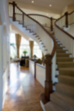 New-Home-Nottingham-Entry-Stair-Chicago-Contractor-Builder