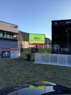 LED scherm festival
