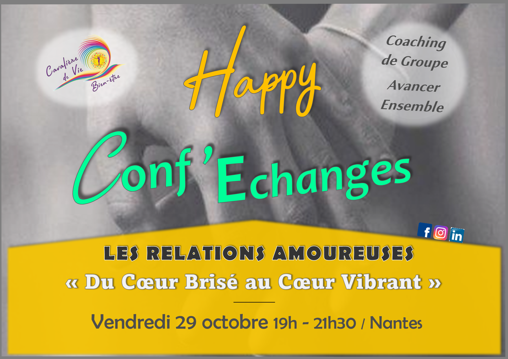 Conf'Echanges Relation Amoureuse 29 Oct