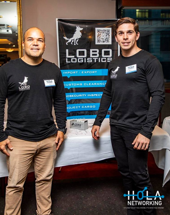 LOBO LOGISTICS at HOLA NETWORKING