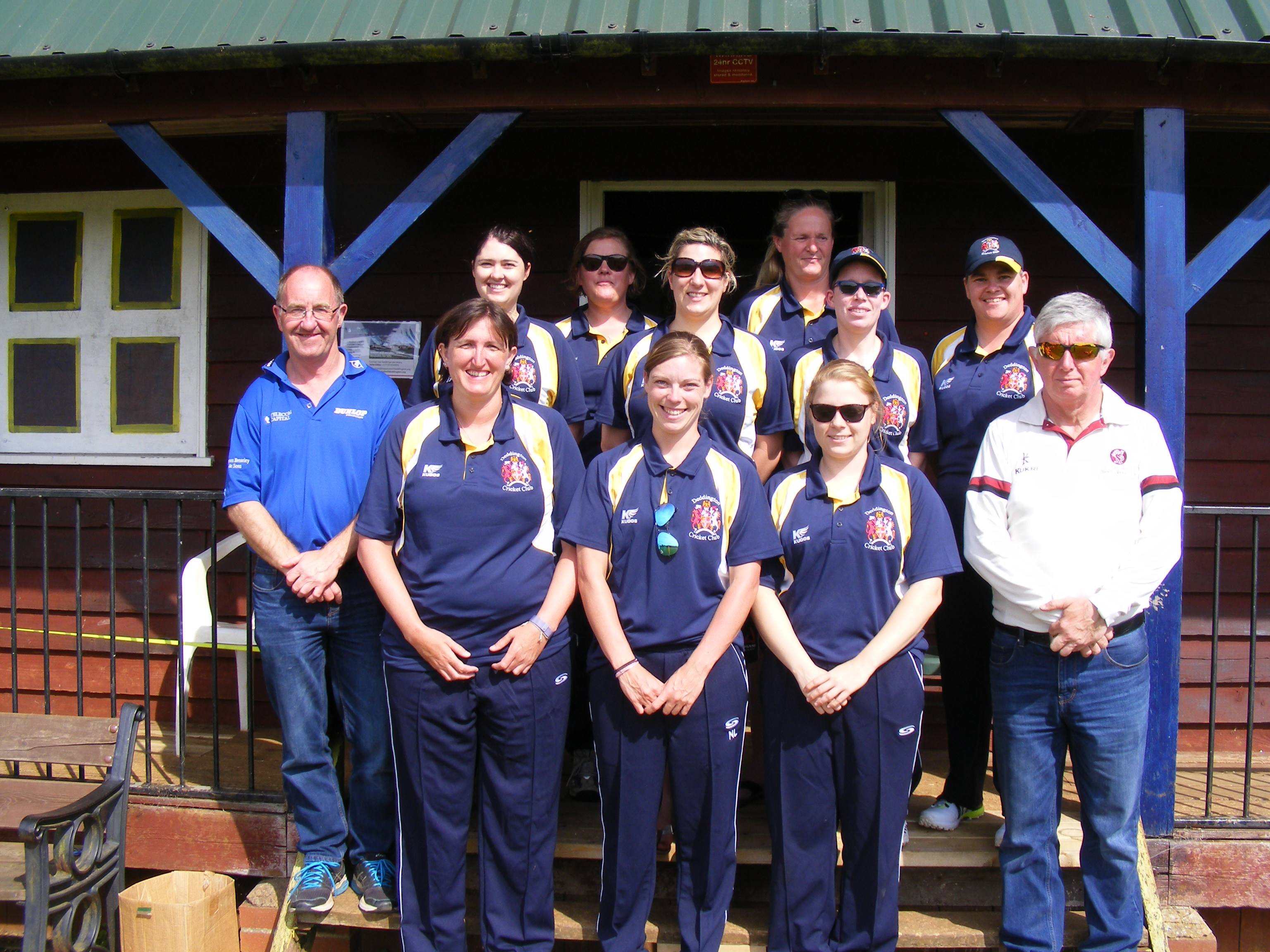 Cricket team - Deddington