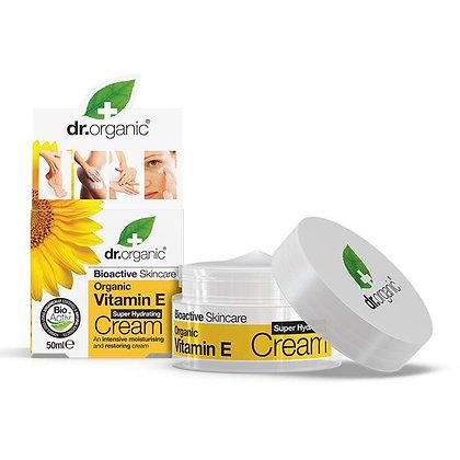 Dr. Organic Vitamina E Crema Super Idratante - 50ml