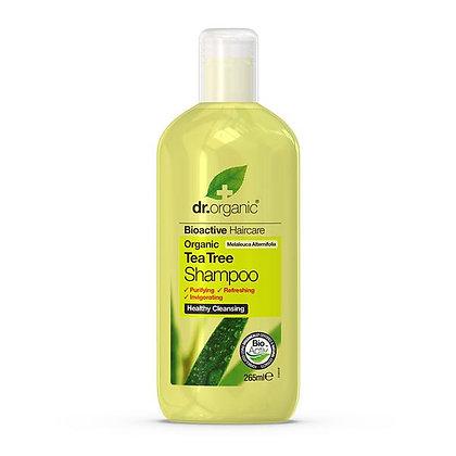 Dr. Organic Olio Albero del Tè Shampoo - 265ml