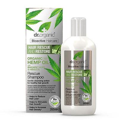 Dr. Organic Olio di Canapa Shampoo Anti-caduta - 265ml