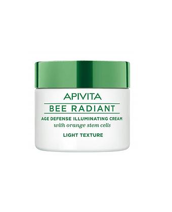 APIVITA Bee Radiant - Crema Illuminante Anti-age Leggera - 50ml