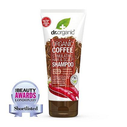 Dr. Organic Caffè Shampoo Stimolante - 200ml