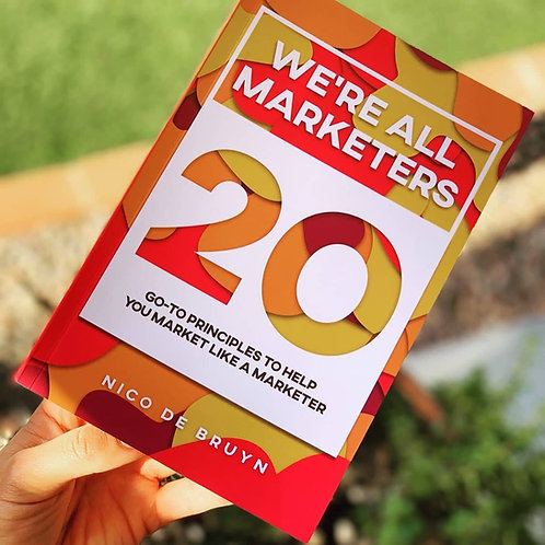 We're All Marketers E-Book