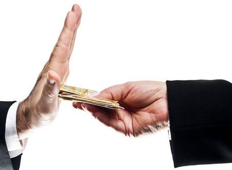 O combate à gestão da corrupção