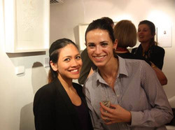 """Opening Night """"ELLES"""" group show"""
