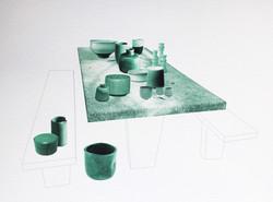 Picnic Table #Ceramics - 2017