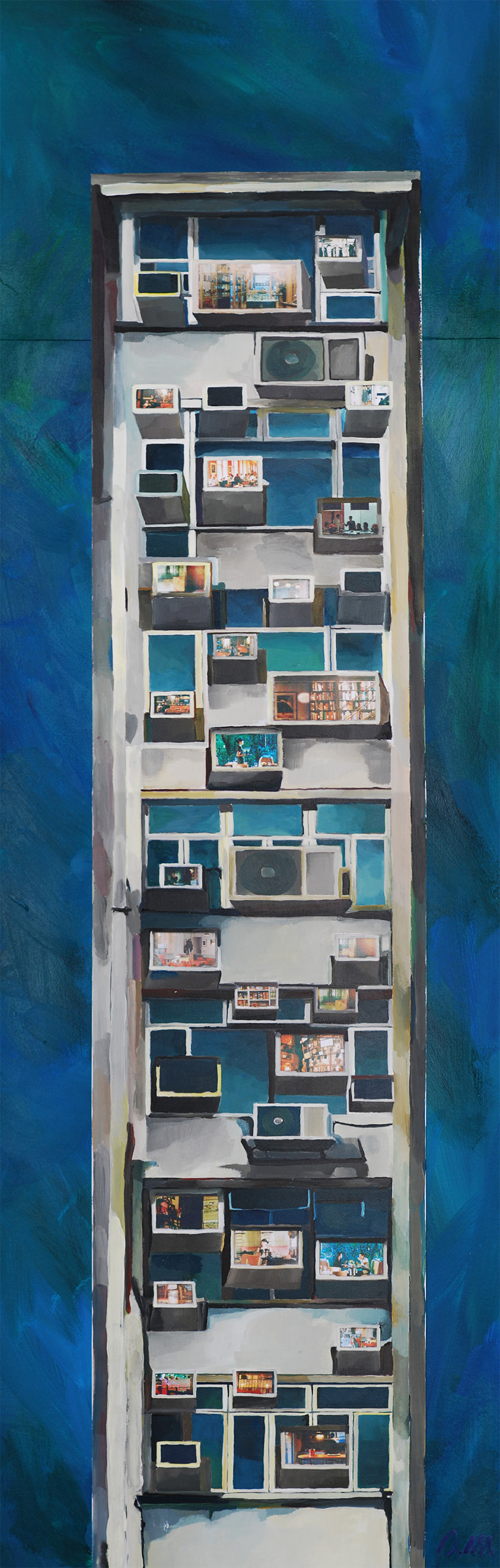 Living in AC Boxes - 2014 (SOLD)