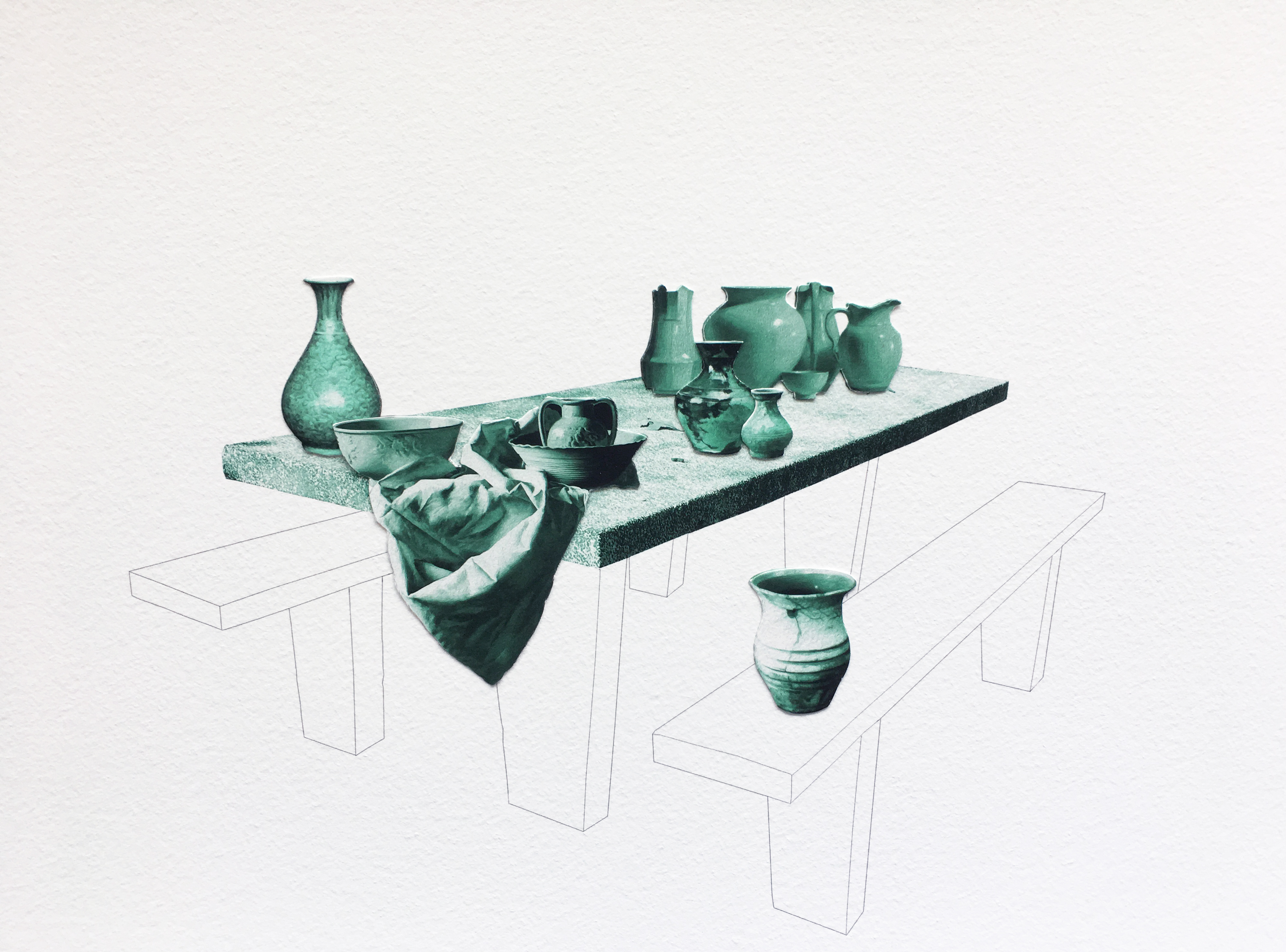 Picnic Table #Vases - 2017