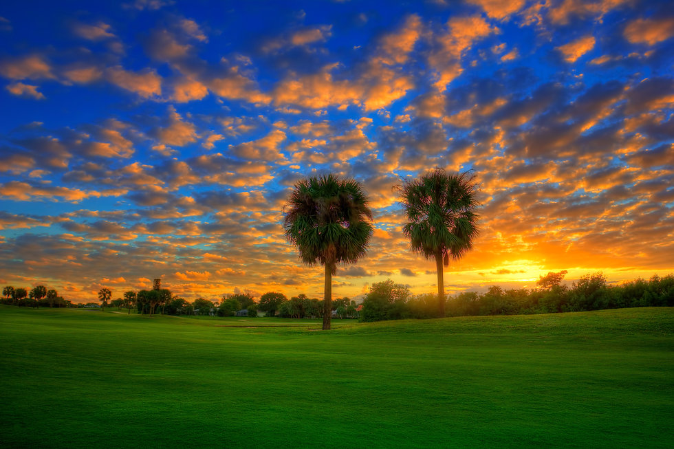 A106-Golf-Course-Sunset-at-North-Palm-Be