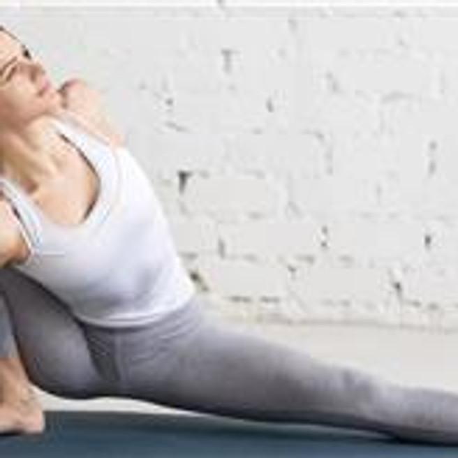 Yoga class with Jennifer + Halotherapy