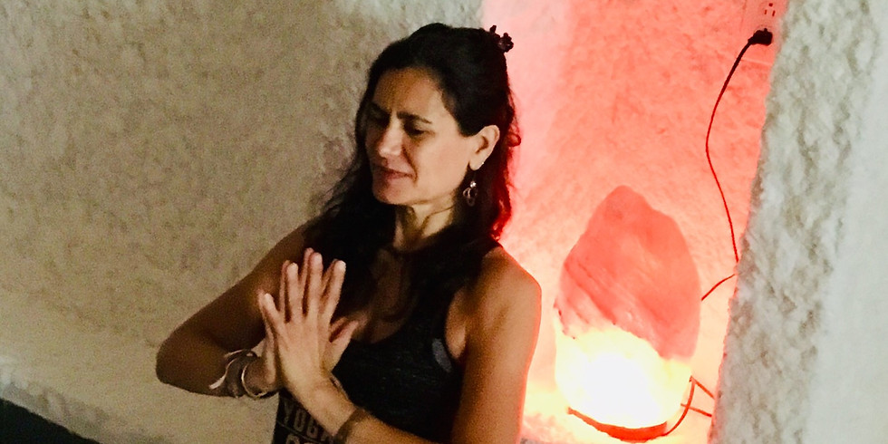 Yin/Yoga Nidra with Dhyana Staicu and Halotherapy
