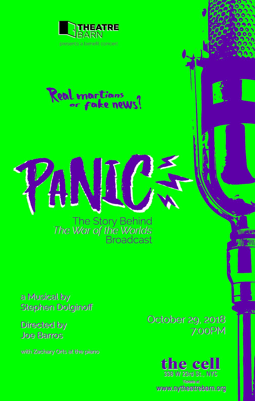 PANIC (BROADWAY)
