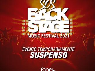 Atual cenário da pandemia de Covid-19 no País, vem dificultando a realização do evento SOS BACKSTAGE