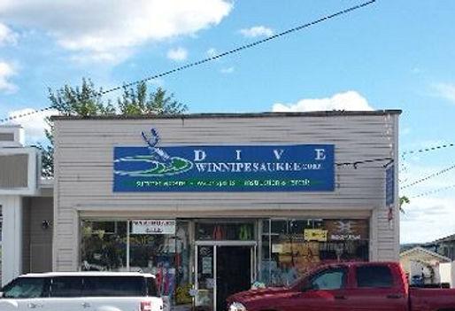 Dive Winnipesaukee Store Front