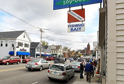 Main Street in Wolfeboro New Hampshire