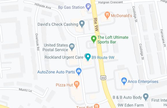 Genesis Medical Health urgent care map s