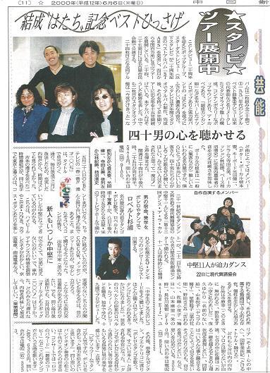 2000/0606/中日新聞