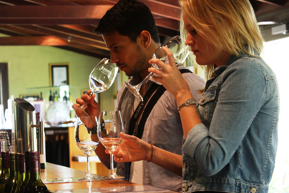 Margaret River wine tasting