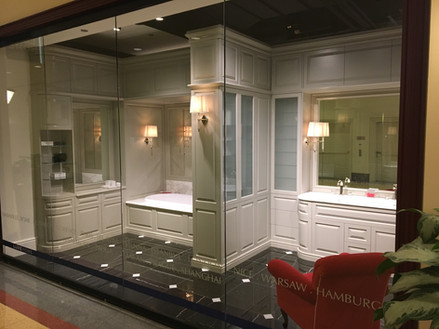 On Display At Chicago Merchandise Mart- Devon & Devon Showroom
