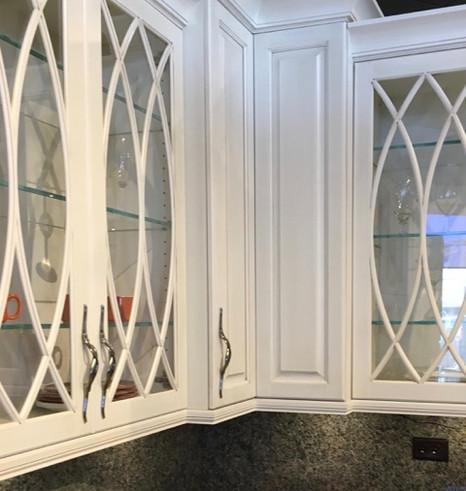 Custom Glass Cabinet Doors