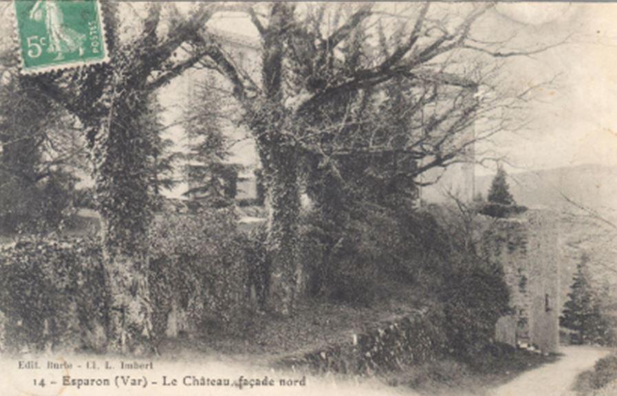 Château Esparron façade nord