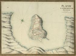 Plan du fort de Brégançon
