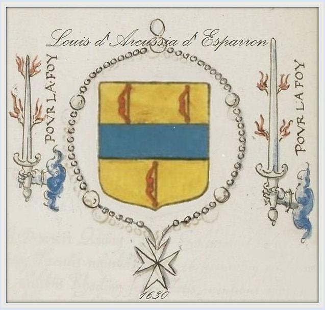 chevalier de Malte Louis d'Arcussia
