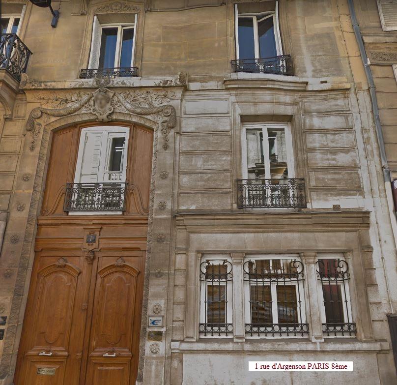 1 rue Argenson paris