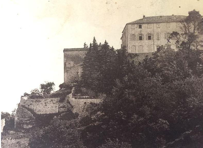 Château Esparron façade sud (1940)
