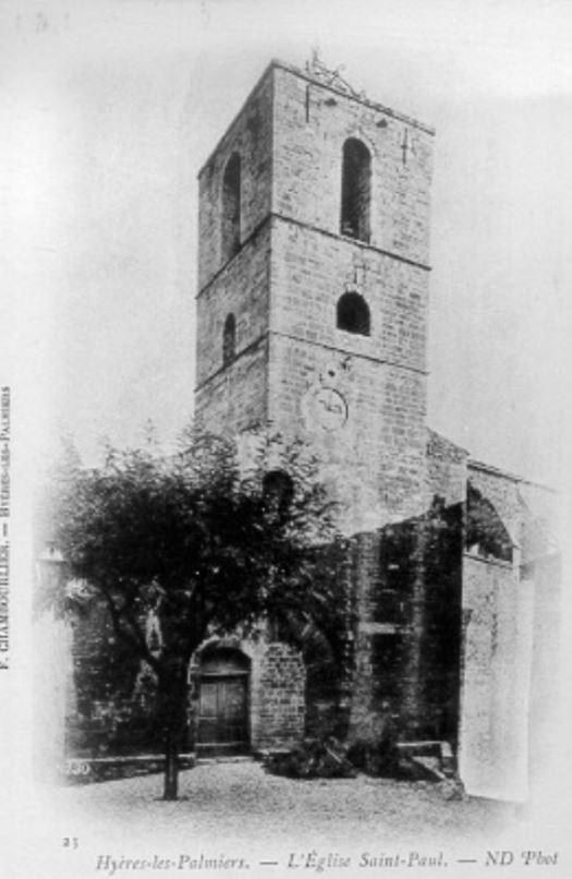 Clocher Collégiale Saint-Paul