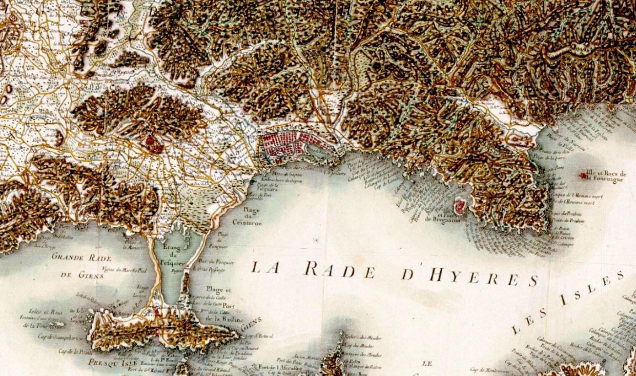 La rade d'Hyères
