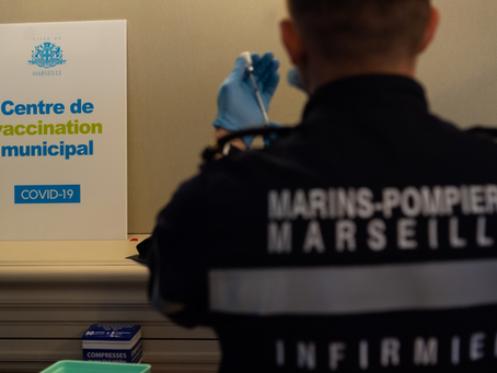Marins Pompiers et vaccinations:           une organisation sans failles.